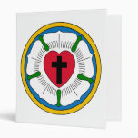 The Luther Rose Lutheranism Martin Luther 3 Ring Binder