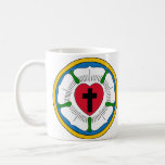 The Luther Rose Lutheranism Martin Luther Classic White Coffee Mug