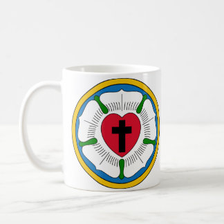 The Luther Rose Lutheranism Martin Luther Coffee Mug