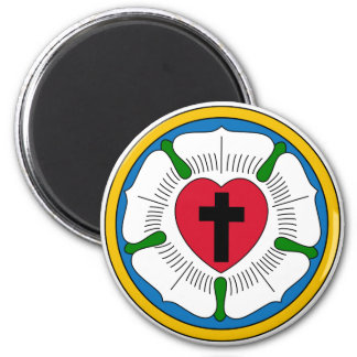 The Luther Rose Lutheranism Martin Luther Magnet