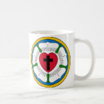 The Luther Rose Lutheranism Martin Luther Mug