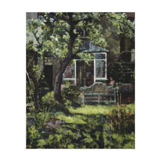 The Lutyens Bench 2002 Canvas Print