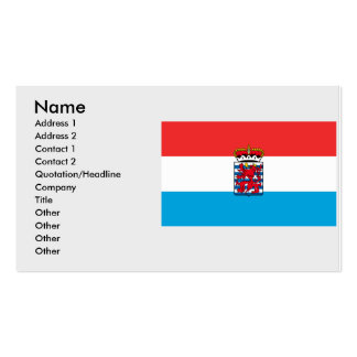 the  Luxembourg, Belgium Double-Sided Standard Business Cards (Pack Of 100)