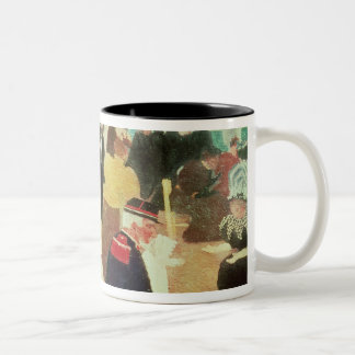 The Luxembourg Gardens, 1895 Two-Tone Coffee Mug