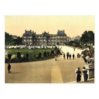 The Luxembourg Palace, Paris, France classic Photo Postcard