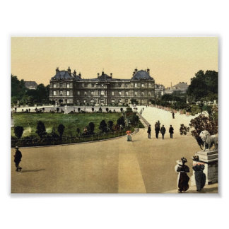 The Luxembourg Palace, Paris, France classic Photo Poster