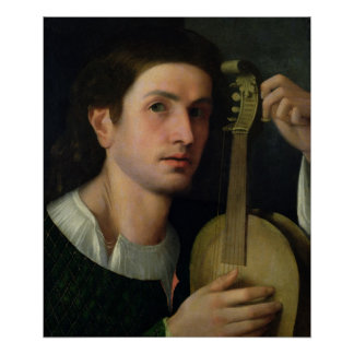 The Lyre, c.1515 Posters