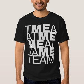 The M E in team T Shirt