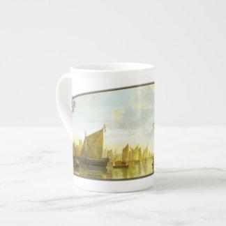 The Maas at Dordrecht - Bone China Mug