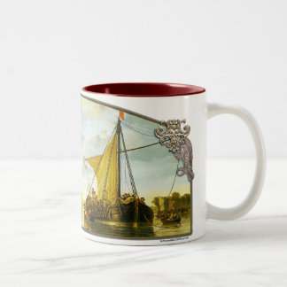 The Maas at Dordrecht - Coffee Mug
