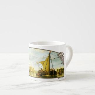 The Maas at Dordrecht - Espresso Mug