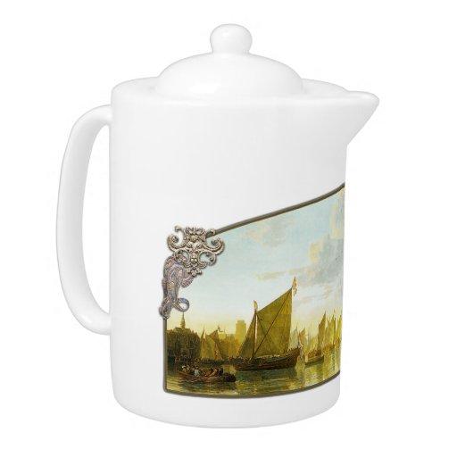 The Maas at Dordrecht - Teapot