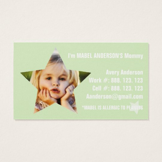 THE MABEL MOMMY CARD