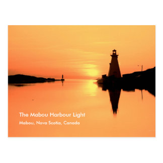 The Mabou Harbour Light, Mabou N.S. Postcard