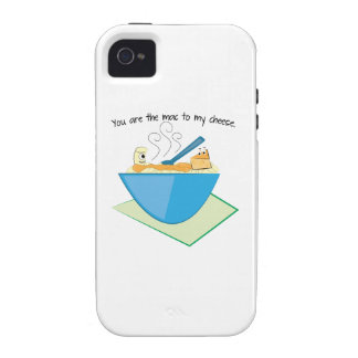 The Mac To My Cheese iPhone 4 Cases
