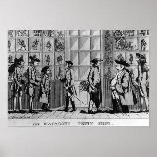 The Macaroni Print Shop, pub. by N. Darley