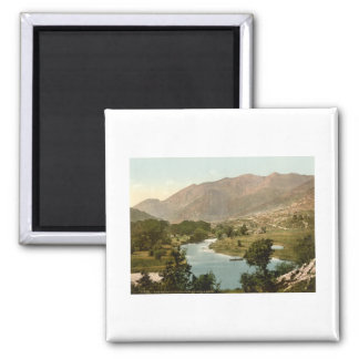 The MacGillicuddy Reeks, Killarney, County Kerry 2 Inch Square Magnet