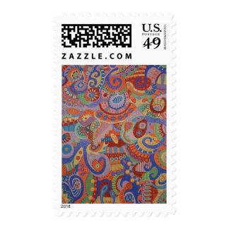 The Machine 3 Postage Stamp