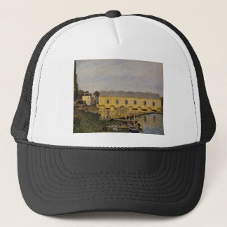 The Machine at Marly by Alfred Sisley Trucker Hat