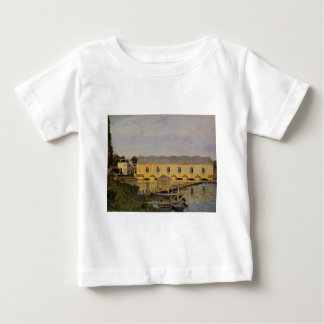 The Machine at Marly by Alfred Sisley Tshirt