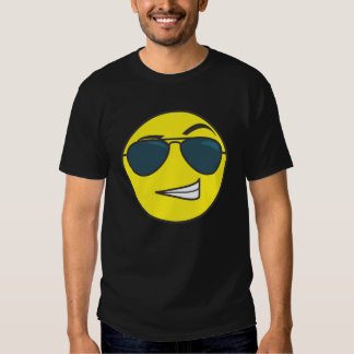The macho smiley emoticon tshirts