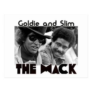 The Mack    Goldie and Slim Postcard