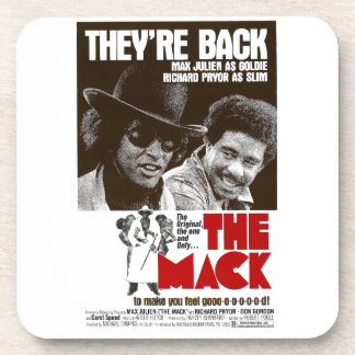 The Mack Official Re Release Movie Poster Beverage Coaster