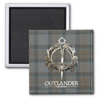 The MacKenzie Clan Brooch 2 Inch Square Magnet
