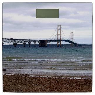 The Mackinac Bridge Bathroom Scale