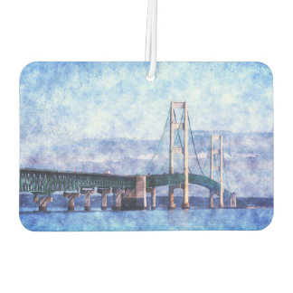 The Mackinac Bridge Car Air Freshener