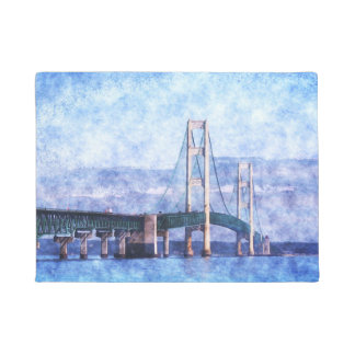 The Mackinac Bridge Doormat