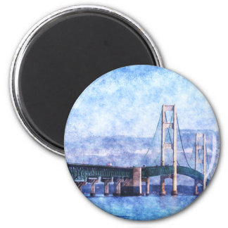The Mackinac Bridge Magnet