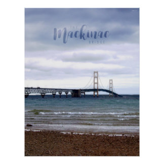 The Mackinac Bridge Poster