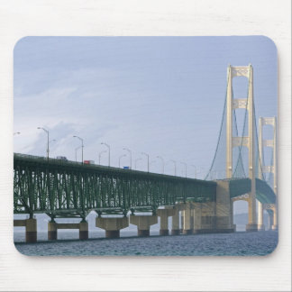 The Mackinac Bridge spanning the Straits of 2 Mouse Pad