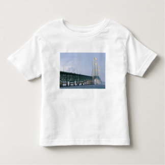 The Mackinac Bridge spanning the Straits of 2 T Shirts