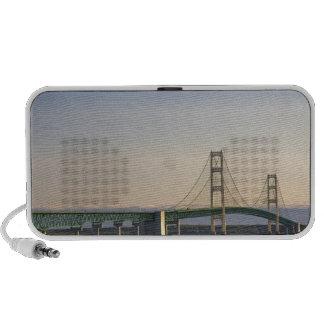 The Mackinac Bridge spanning the Straits of 3 Portable Speaker
