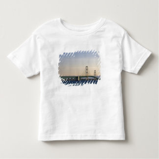 The Mackinac Bridge spanning the Straits of 3 Toddler T-shirt