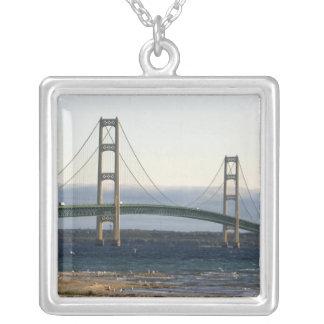 The Mackinac Bridge spanning the Straits of 4 Pendants