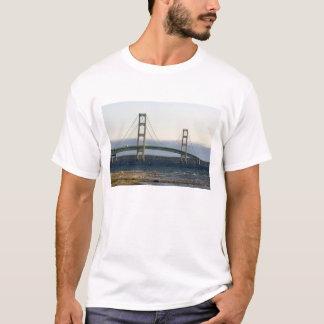 The Mackinac Bridge spanning the Straits of 4 T-Shirt