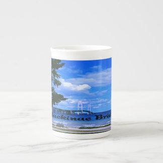 The Mackinac Bridge Porcelain Mug