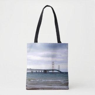 The Mackinac Bridge Tote Bag