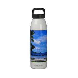 The Mackinac Bridge Reusable Water Bottles