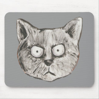 The mad cat mouse pad
