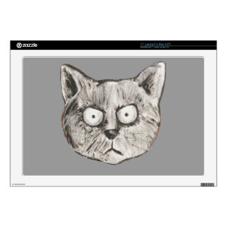 The mad cat skin for laptop