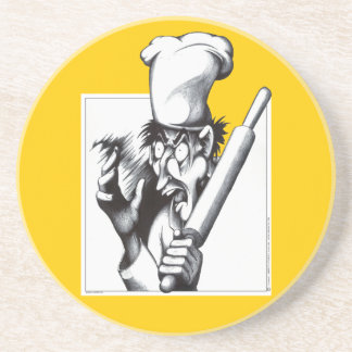 The Mad Chef Drink Coaster
