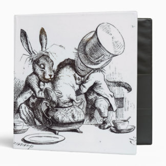 The Mad Hatter and the March Hare Binder