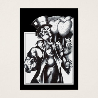 The Mad Hatter Business Card