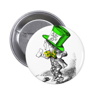 The Mad Hatter Pinback Button