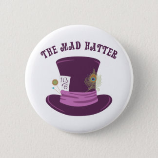 The Mad Hatter Button