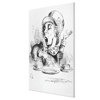 The Mad Hatter Gallery Wrapped Canvas